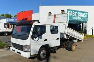 MITSUBISHI FUSO CANTER FE84 ** DUALCAB ** TIPPER ** #5080 Archerfield Brisbane South West Preview