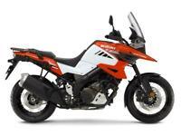 NEW 2020 SUZUKI DL1050 XT VSTROM ORANGE / WHITE - NEW - 3% APR FINANCE
