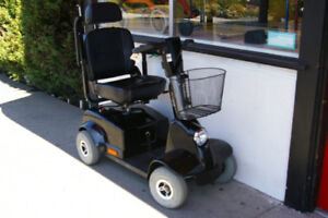 Mobility Scooters 3 & 4 WHEELS - NEW & USED with Warranty