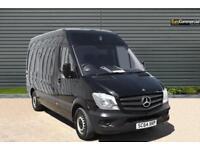 2015 Mercedes-Benz Sprinter 2.1 CDI 313 High Roof Panel Van 4dr MWB Diesel black