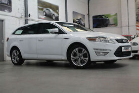 Ford Mondeo 2.0 TDCi Titanium X Estate, 13 Reg, 62k, White, Massive Spec!