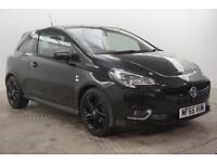 2015 Vauxhall Corsa LIMITED EDITION Petrol black Manual