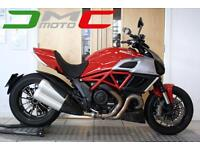 2012 Ducati Diavel Red 10,650 Miles 2 Owners