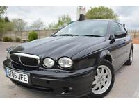 JAGUAR X TYPE CLASSIC 2.0d DIESEL 4 DOOR*LONG MOT*SERVICE HISTORY*CRAZY CHEAP*
