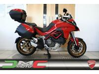 2015 Ducati Multistrada 1200 S Touring + Top Box Red Immaculate