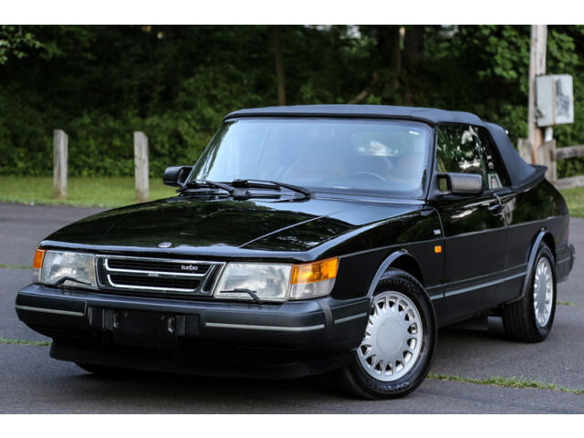 Saab : Other TURBO 1991 SAAB 900 TURBO Convertible Auto Low 90K Miles BRAND NEW TOP RARE Garaged