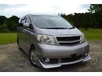 FRESH IMPORT 2005 TOYOTA ALPHARD ESTIMA 2.4 AUTO 4WD BOTH ELECTRIC SIDE DOORS