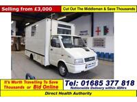 1994 - M - IVECO FORD DAILY 5.0TON 2.5 DIESEL MOBILE DENTIST UNIT (GUIDE PRICE)