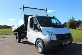 Ford Transit 2.4TDCi ( 100ps) 350 MWB Tipper Truck 60 Reg 2011 £7,895 + VAT