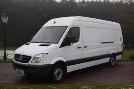 Mercedes Benz Sprinter lwb 313 cdi 130 bhp with a 500kg Anteo tail lift