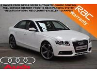 2011 Audi A4 2.0TDI SE AUTOMATIC-1 OWNER-FULL SERVICE HISTORY-F+R PARKING SYSTEM