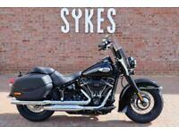 NEW 2021 Harley-Davidson FLHCS Softail Heritage Classic 114 in Vivid Black