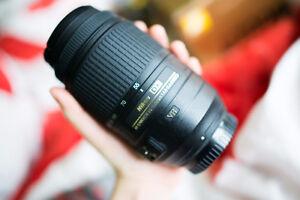 Nikon AF-S DX 55-300 mm f/4.5-5.6 Zoom Lens VR