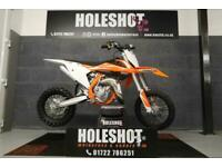 KTM SX 65 2018 MOTOCROSS BIKE WP SUSPENSION ONLY 11.3 HOURS ON THE METER
