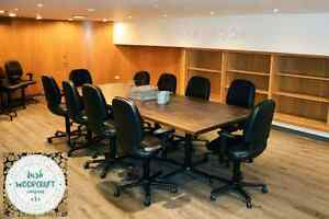 Beautiful Custom Conference & Boardroom Tables