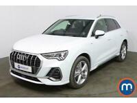 2019 Audi Q3 35 TFSI S Line 5dr CrossOver Petrol Manual