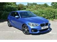 2019 BMW 116d M Sport 3dr Navigation/Servotronic Step Auto Estoril Blue Metalic