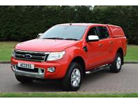 Ford Ranger Limited D/C 2.2 tdci 150 bhp