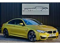 BMW M4 3.0 M DCT Coupe Austin Yellow + Head Up + Harmon Kardon + etc
