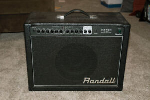 $350 OBO: Randall RX Series RX75R 75W 1x12 Guitar Combo Amp Used