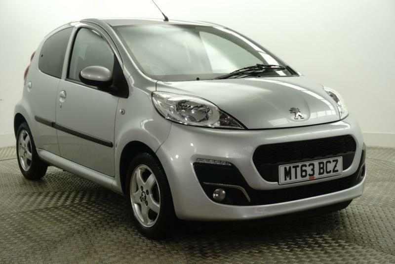 2013 Peugeot 107 ALLURE Petrol silver Manual