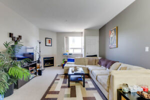 1000 SqFt Condo on 105 ST in Edmontons Downtown Core! UG Parking