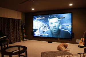 COMPLETE 72 Inch HOME THEATRE SET UP
