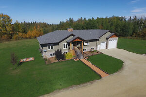 Very Private 80 Acre Acreage Set up for HORSES!