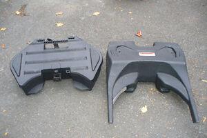 Boîte coffre BRP pour arrière de moto & Pare-Brise 21 X 21 po