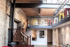 Badass Loft Coworking Space w/ Availability in Liberty Village