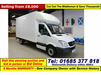 2010 - 60 - MERCEDES SPRINTER 313 2.2CDI LUTON BOX VAN C/W SLIM JIM TAIL LIFT