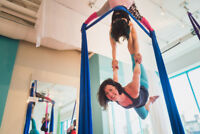 $12 Into Aerial Silks Classes