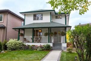 4-bedroom 4 bath home near U of A (with legal basement suite)
