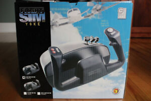 Ch Flight Sim Yoke and Pro Pedals (usb)