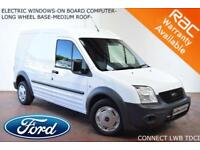 2012 Ford Transit Connect 1.8TDCi (90PS) T230 LWB-BLUETOOTH-EW-PLYLINED-NO VAT-