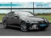 2016 Lexus GS 300 2.5 F Sport CVT (s/s) 4dr