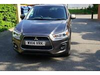 Mitsubishi ASX 1.8TD ( 114bhp ) ( Leather ) 2014MY 3 (Leather) Brown Manual