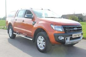 Ford Ranger 3.2TDCi 200PS 4x4 Wildtrak Double Cab 6526 Miles £19,875 NO VAT !!!