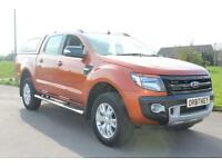 Ford Ranger 3.2TDCi 200PS 4x4 Wildtrak Double Cab 6526 Miles £19,875 NO VAT !!!