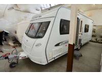 2011 Lunar Clubman SB 4 Berth Touring Caravan with Fixed Single Beds