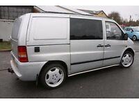 2001 MERCEDES BENZ VITO CAMPER 108CDI Van Turbo Camper