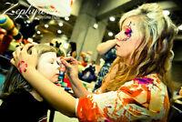 Cours de maquillage fantaisie