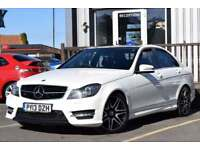 2013 MERCEDES-BENZ C CLASS 2.1 C250 CDI BLUEEFFICIENCY AMG SPORT PLUS 4D AUTO 20