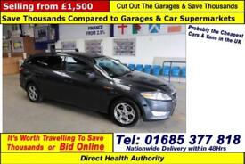 2009 - 59 - FORD MONDEO ZETEC 2.0TDCI 140PS 5 DOOR ESTATE (GUIDE PRICE)