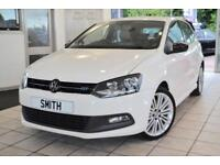 VW Polo 1.3 BLUE GT 5 DOOR HATCHBACK WITH FULL SERVICE HISTORY 2013/13