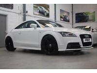 "Audi TT Coupe TFSi S Line, 10 Reg, 59k, Ibis White, 20"" Alloy Wheels, FSH"