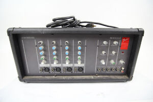 Fender LX1504 mixer-amplifier