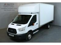 FORD TRANSIT 2.2 350 124 BHP L4 EXTRA LWB TAIL LIFT FITTED LUTON VAN