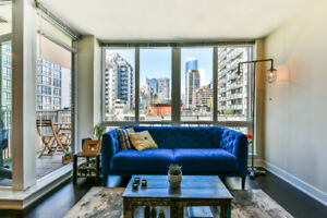 Beautiful One Bed + Den Condo Furnished/Unfurnished - June