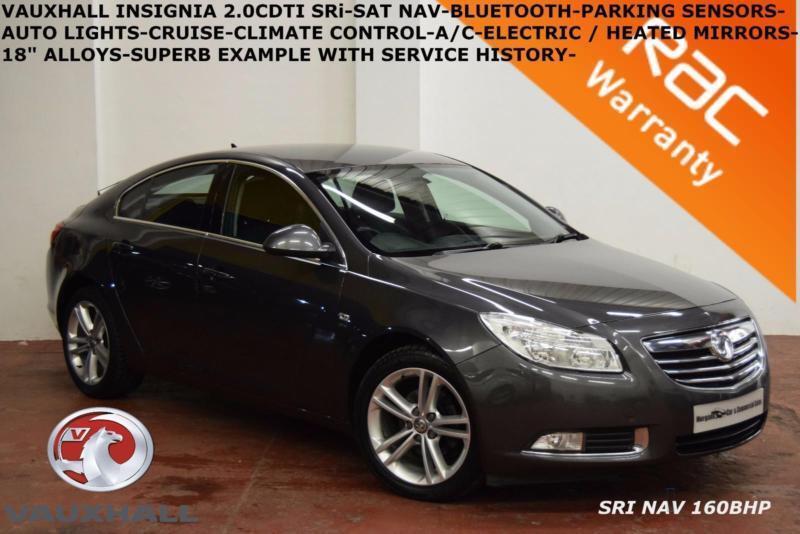 2011 Vauxhall/Opel Insignia 2.0CDTi 16v (160ps) (Nav) SRi-B.TOOTH-PARK SENSORS-